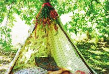 Let's Go Camping! / Adorable tent ideas for kids - go camping wherever you want, even if it's your living room!