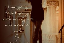 Moving On Quotes / Move on, accept what happened in the past, face the future. This is YOUR life, so be full of yourself!