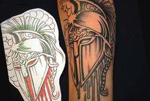 Татуировки спарта