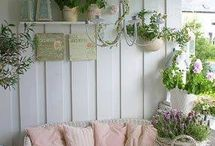 Porches/outdoor spaces / by Susan Taggart