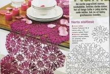 Camino de mesa en crochet