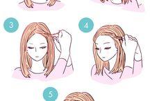 Coiffure / Petite coiffure pour tous type de cheveux