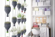hanging plant bottle