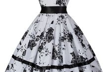 Floral Dresses / Vintage style floral print dresses. In a range of colours and styles. Inspired by iconic 40s and 50s styles.