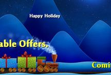 Happy Holidays Offer / Holiday Offer, special most selling products at very laser price. to make your holidays a very #happyholidays with our offers that bring smile.