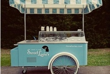 ice cream stand / budka z lodami