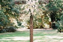 wedding wood crosses