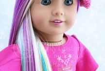 AG pelo de colores