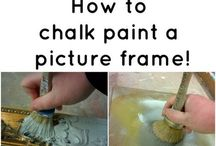 picture frame chalk paint