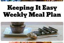 Meal Plans and Menus
