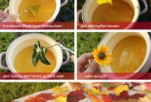 DIY Autumn/ Herbst projects for children