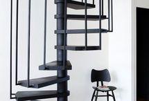 escaleras para terraza