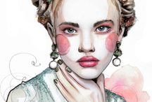 Illustrations and drawings / by Rafaela Ronconi