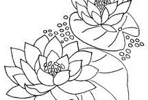 molde flor de loto