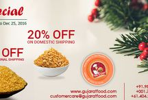 Special Christmas Discounts - GujaratFood.com / Gujaratfood.com is offering shipping discount this #Christmas season to rekindle the warmth and happiness.
