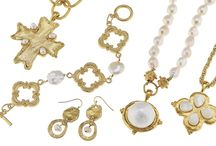 Cotton Pearls and Freshwater Pearls / Susan Shaw Jewelry with cotton pearls or freshwater pearls