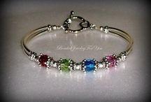 Bead Bracelets / by Tiffany Adams