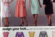 New Look / New Look Sewing patterns.  My personal collection (where noted), or for sale in my Etsy shop!