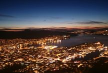 Norway, Bergen / Bergen by night