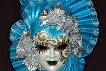 decoratie maskers / maskers