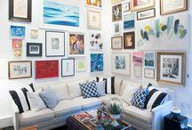 Gallery wall / artwork