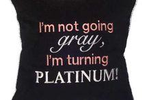 Graying gracefully