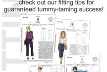 How to fit pants on a Full Abdomen or Big Tummy! / ...check it out! it's always easier with diagrams to follow...