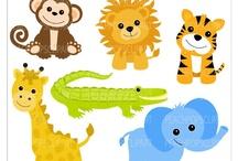 Art & Doodles - Animals - Jungle