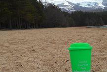 Solid Luxury Travel Mugs / How far can your #Balmeadowside #Conifers #Rossieochil Travel Mug travel to?