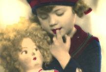 Children vintage pictures / Stare dziecięce obrazki