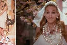 Carrie wedding dresses