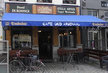 Belgian bars and cafés views / Wonderful venues for a decent drink.
