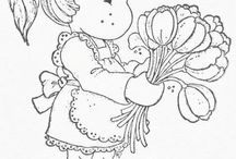 coloring pages 46 (girls+boys)