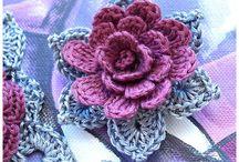 Horgolás - virágok / Horgolt virágok