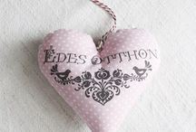 Hearts <3 / my heart my love my work