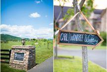 Wondree Wedding / Our wedding at Early Mountain Vineyards!