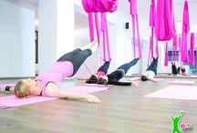 Aerial Yoga / Alles über Aerial Yoga bei StudioB15  Impressum: http://www.studiob15.de/foodmenue/impressum/