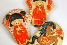 Chinese newyear cookies idea