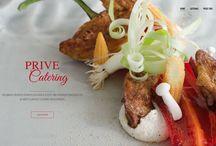 Webdesign voor Amalthea Catering