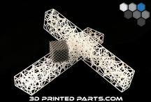 Plastic 3D Printed Parts