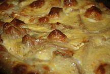 pizza szerű kifliből