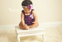 6 month baby portrait photography