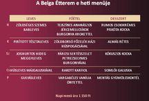 Heti menüajánlatunk / Minden héten várunk titeket Debrecen szívében 3 fogásos menüvel. Hétről-hétre változatos ételeket szolgálunk fel! Megéri bejönni ;)