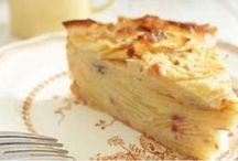 Gâteau pommes invisible
