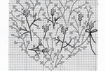 Haft krzyżykowy wzory