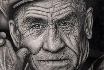 visage vieil homme