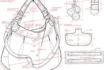 technical drawings bags