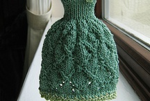 barbie clothes and crochet miniatures