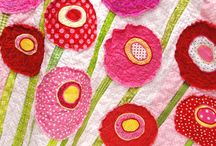 flower quilts / by Carol Mercer