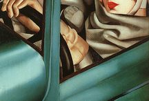 Art - Tamara de Lempicka / by Gail Smith